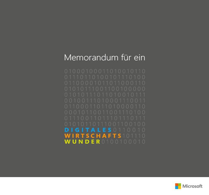Memorandum für ein Digitales Wirtschaftswunder